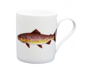 Richard Bramble Brown Trout Small Mug