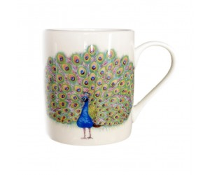 Richard Bramble Peacock Small Mug