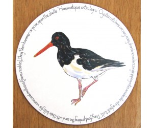 Richard Bramble Oystercatcher Standing Tablemat