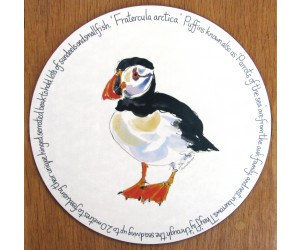 Richard Bramble Puffin Standing Tablemat