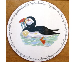 Richard Bramble Puffin Swimming Tablemat