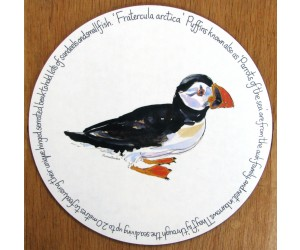 Richard Bramble Puffin Walking Tablemat