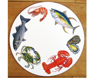 Richard Bramble Fish & Shellfish US East Coast Tablemat