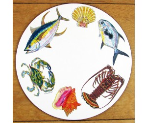 Richard Bramble Fish & Shellfish US South Coast Tablemat