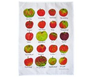 Richard Bramble Apples Tea Towel