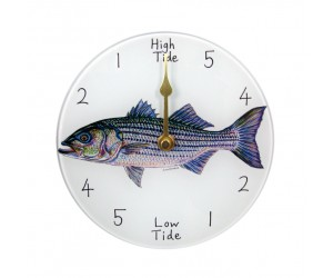 Richard Bramble Striped Bass 18cm Tide Clock