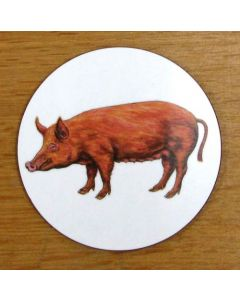 Richard Bramble Tamworth Pig Coaster