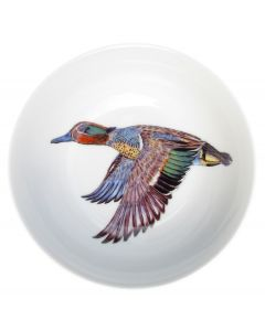 Green-winged Teal 13cm Bowl by Richard Bramble