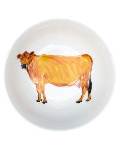 Richard Bramble Jersey Cow 13cm Bowl
