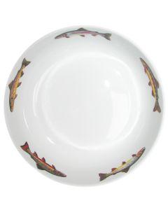 24cm Trout bowl by Richard Bramble