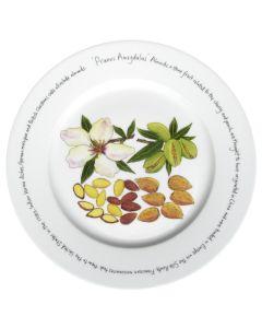 Almonds 30cm Plate by Richard Bramble