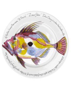 Richard Bramble John Dory 30cm Flat Rimmed Plate