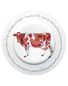 Guernsey Cow 30cm Plate by Richard Bramble