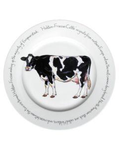 Holstein-Friesian Cow 30cm Plate by Richard Bramble