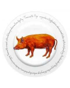 Tamworth Pig 30cm Plate by Richard Bramble
