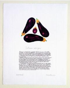 Aubergines Print