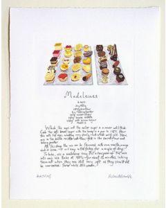 Madeleine Recipe Print - Tom Aikens