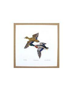 Richard Bramble Mallard Ducks Print