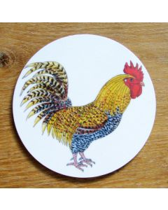 Richard Bramble Cockerel or Rooster Coaster
