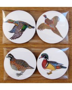 Richard Bramble Gamebirds Gift Coaster Pack