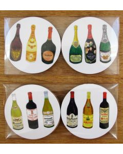 Richard Bramble Wine & Champagne Gift Coaster Pack