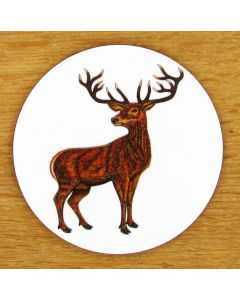 Stag Roaring Coaster by Richard Bramble