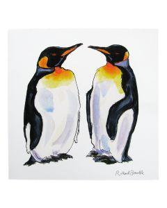 Richard Bramble King Penguins Greeting Card