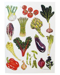 Vegetable Greeting Card