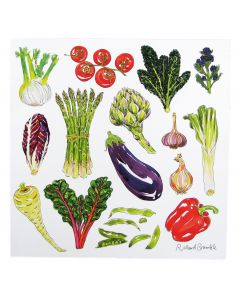 Richard Bramble Vegetables Greeting Card