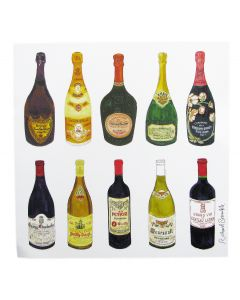 Richard Bramble Wine & Champagne Greeting Card