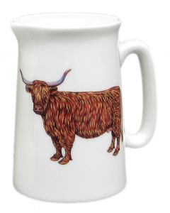Richard Bramble ½ Pint Highland & Belted Galloway Cow Jug