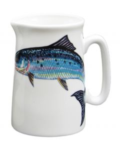 ½ Pint Salmon Jug by Richard Bramble