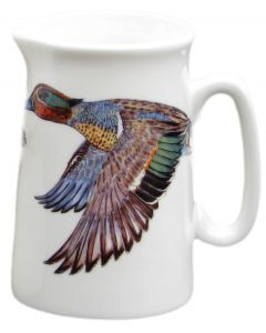 Richard Bramble ½ Pint Teal Duck Jug