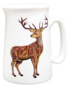 ½ Pint Stag Jug by Richard Bramble