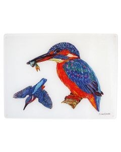 Kingfisher Heatstand & Surface Protector and chopping board by Richard Bramble