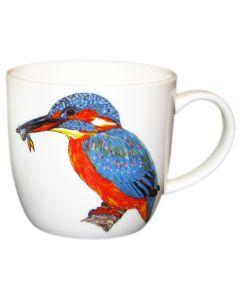 Kingfisher Mug by Richard Bramble right side