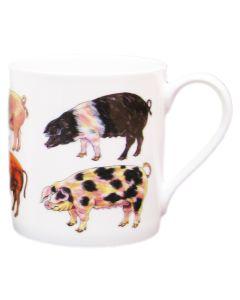 Pigs mug by Richard Bramble
