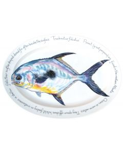 Permit Oval designed by Richard Bramble made by Jersey Pottery