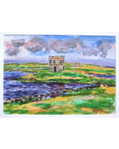 Scolpaig Castle and Loch, North Uist, Outer Hebrides