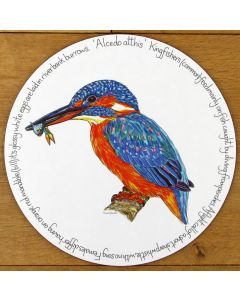 Kingfisher Tablemat by Richard Bramble