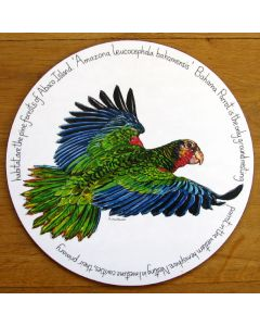 Bahama Parrot Tablemat by Richard Bramble