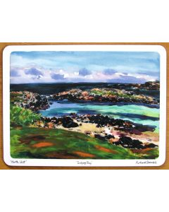 Scolpaid Bay, North Uist, Outer Hebrides Tablemat by Richard Bramble