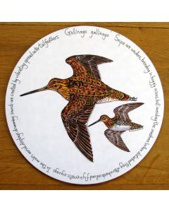 Snipe Tablemat by Richard Bramble