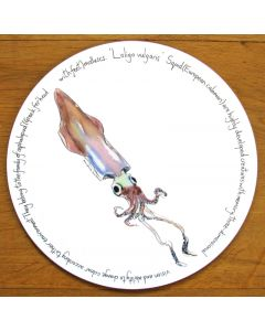 Squid Tablemat by Richard Bramble