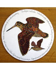 Woodcock Tablemat by Richard Bramble