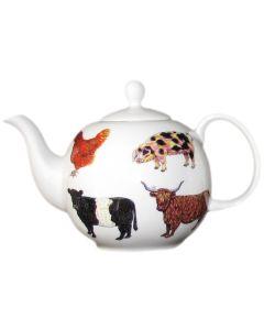 Richard Bramble Farmyard Teapot