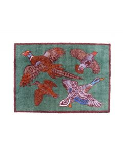 Richard Bramble Game Birds Design MEDIUM Size Floor Mat