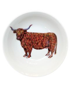 Richard Bramble Highland Cow 13cm Bowl