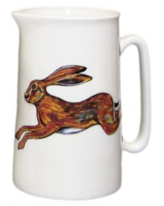 Hare 1 Pint Jug by Richard Bramble