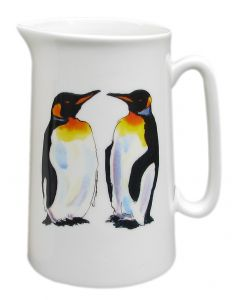 King Penguin 1 Pint Jug by Richard Bramble